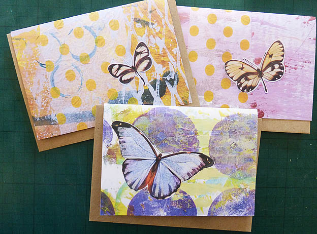 Butterfly cards - Digital print