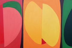 Segments - acrylic on canvas - £250