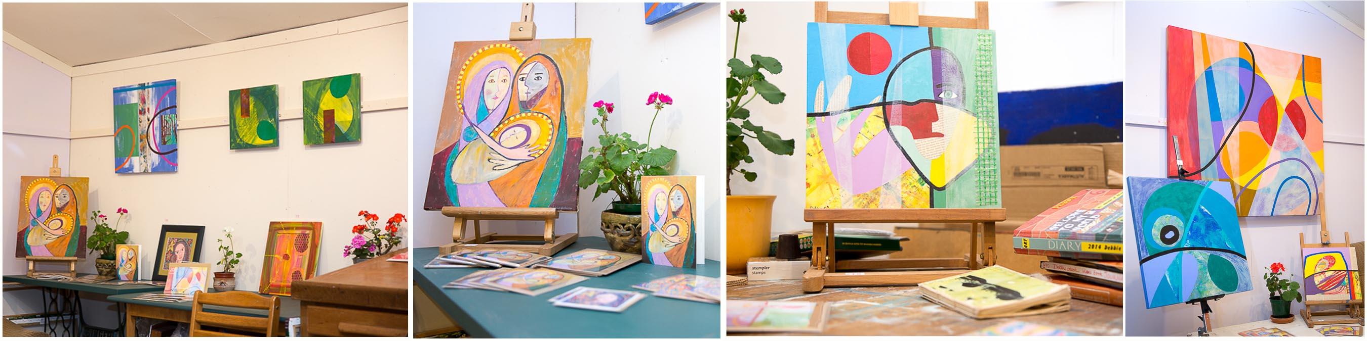 Exhibitions – DEBBIE OSBORN ART STUDIO