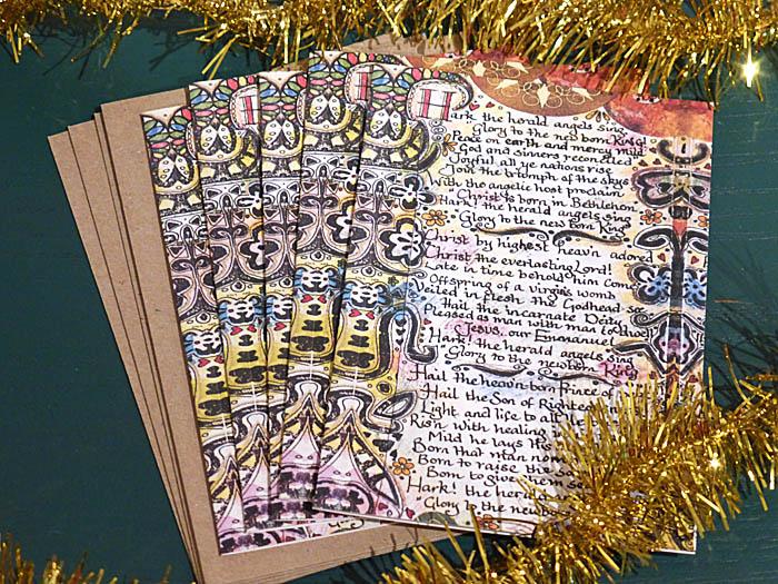 Christmas Carol Christmas Card