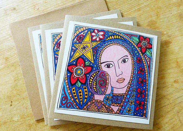 Madonna Christmas cards