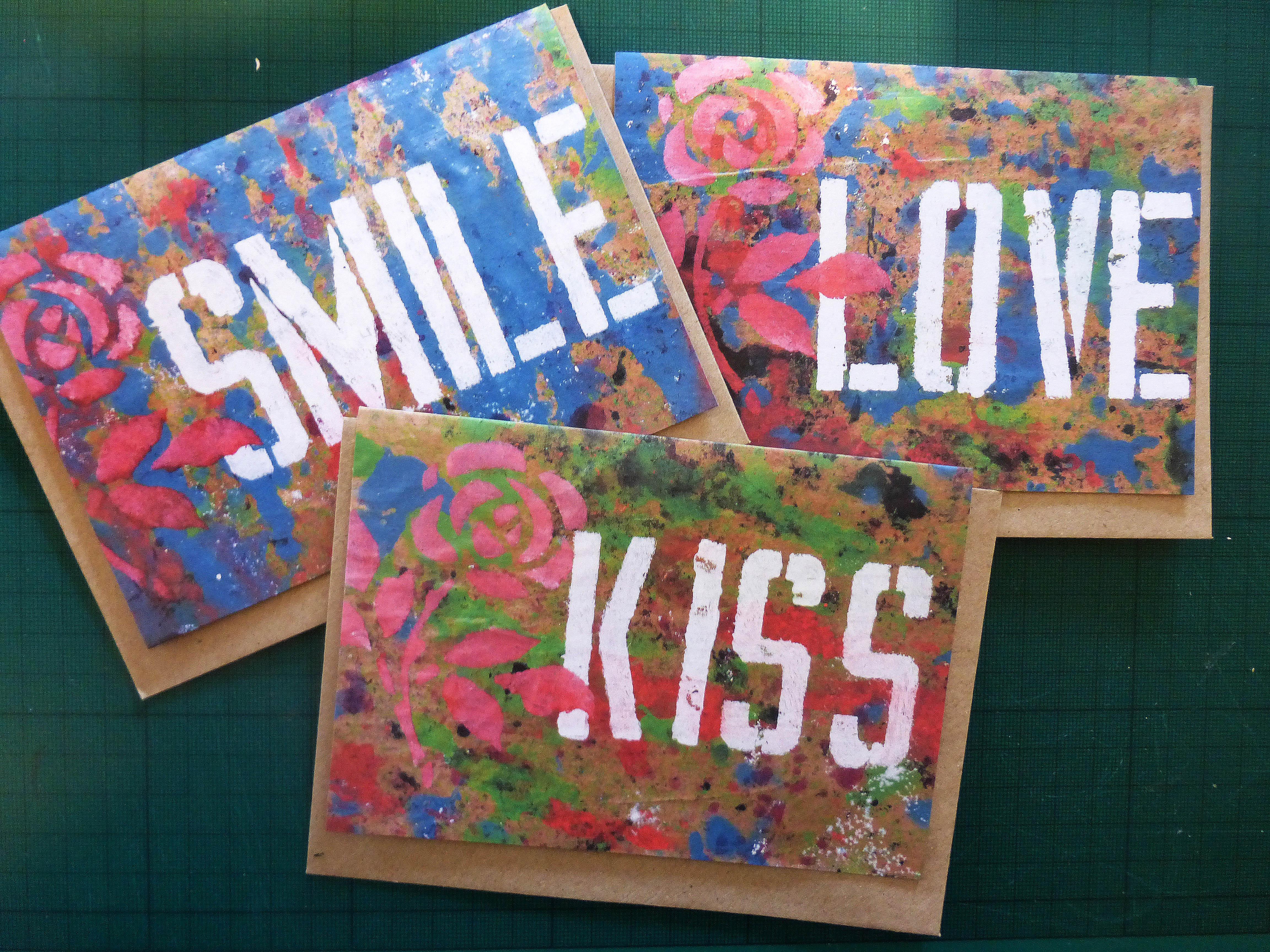 Stencil card - Digital print