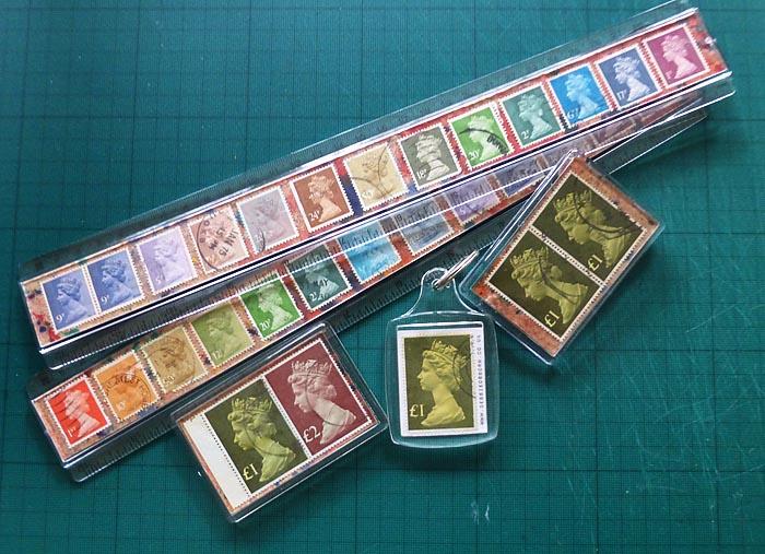 Stamp rulers etc
