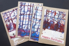 Handmade original art card